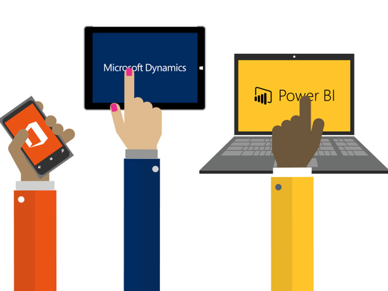 Microsoft Dynamics CRM + Office 365 + Power BI